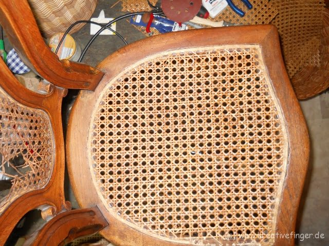 Kundenauftrag - Louis Philipe Sitz- und Rückengeflecht
