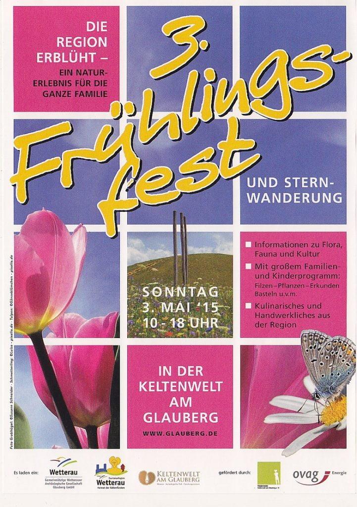 Flyer Frühlingsfest