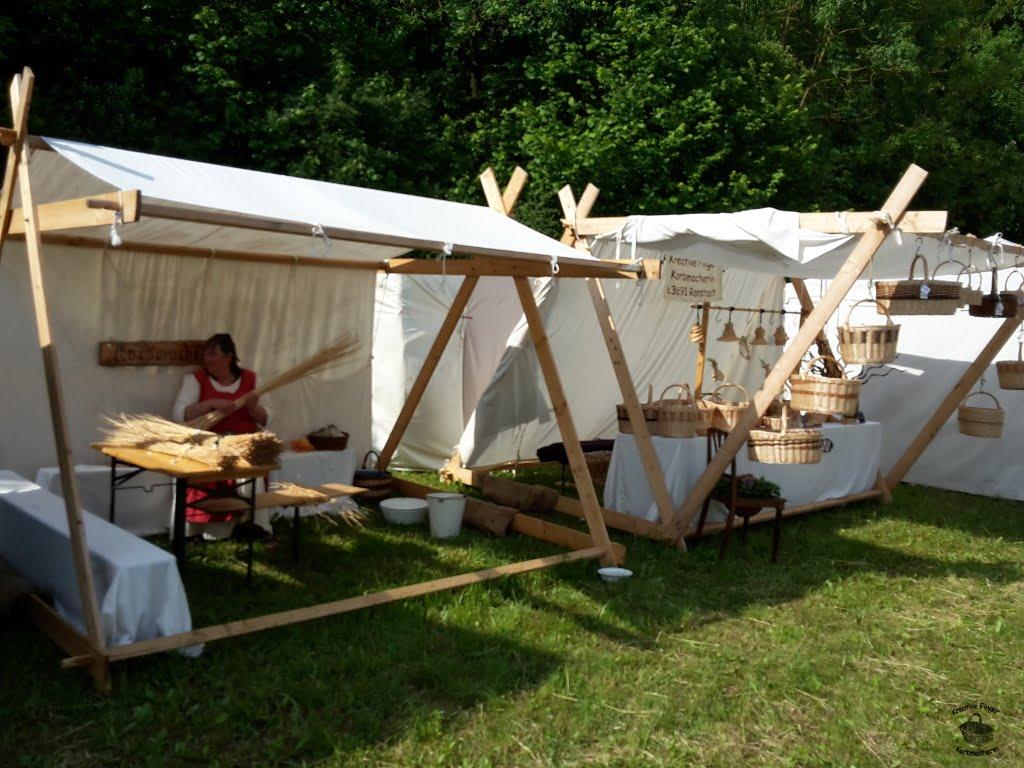 Mittelalterliche Zelte - Verkauf und Vorführung 9,5 x 4m